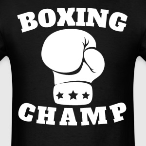 Boxing Champ Boxing Glove - Men's T-Shirt