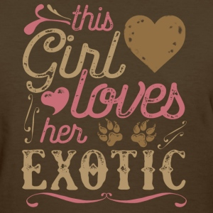 This Girl Loves Her Exotic Cat T-Shirts - Women's T-Shirt