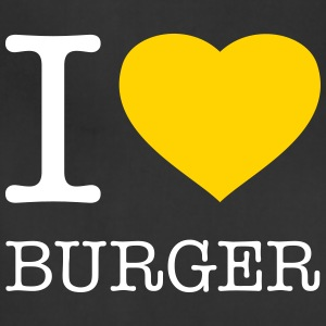 I LOVE BURGER - Adjustable Apron
