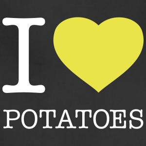 I LOVE POTATOES - Adjustable Apron