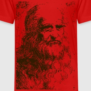 Self portrait (Leonardo da vinci) - Toddler Premium T-Shirt