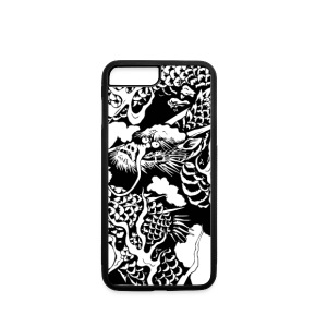Japan traditional dragon - iPhone 7 Plus Rubber Case
