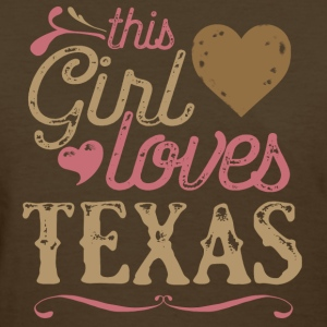 This Girl Loves Texas T-Shirts - Women's T-Shirt