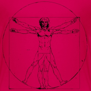 Vitruvian Man - Toddler Premium T-Shirt
