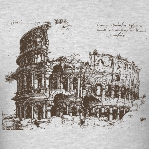 Colosseum illustration - Men's T-Shirt