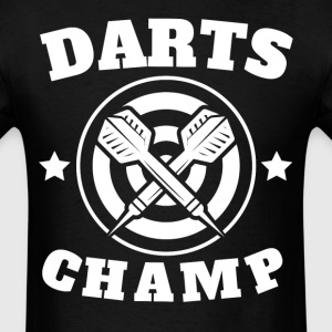 Darts Champ Retro Darts - Men's T-Shirt