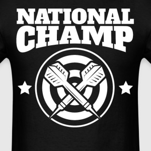 Retro National Champ Darts - Men's T-Shirt