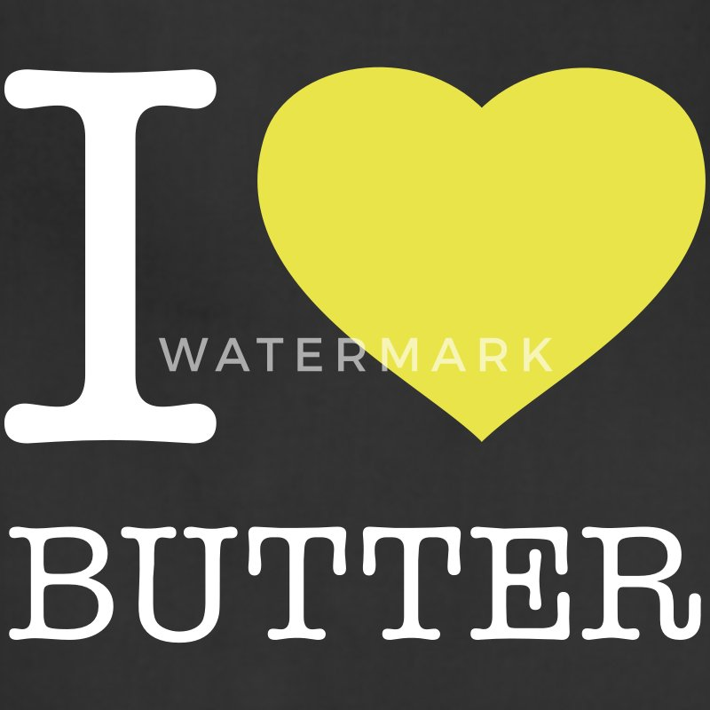 I LOVE BUTTER - Adjustable Apron