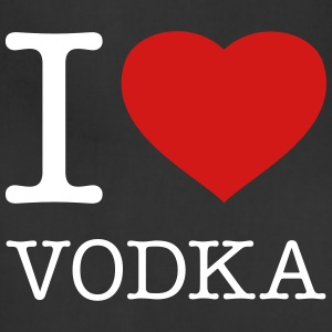 I LOVE VODKA - Adjustable Apron