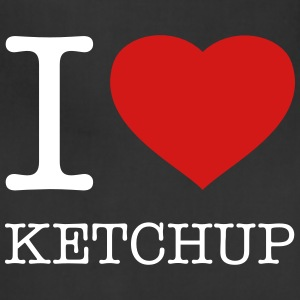 I LOVE KETCHUP - Adjustable Apron