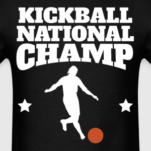 Retro Kickball National Champ - Men's T-Shirt