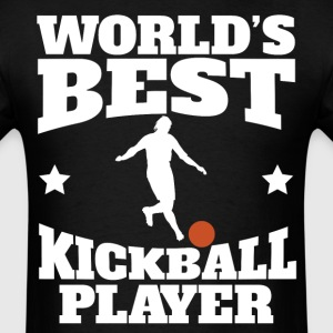 Retro World's Best Kickball Player - Men's T-Shirt