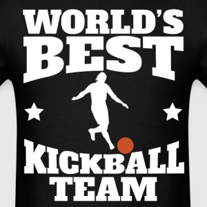 Retro World's Best Kickball Team - Men's T-Shirt