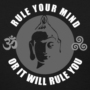 Buddhism - Rule Your Mind, Or It Will Rule You 1 T-Shirts - Women's T-Shirt