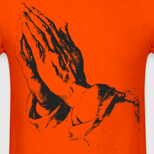 Praying hands T-Shirts - Men's T-Shirt