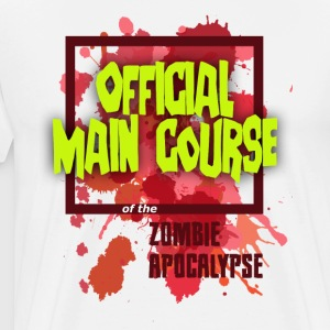 Men's Light Zombie Main Course - Men's Premium T-Shirt