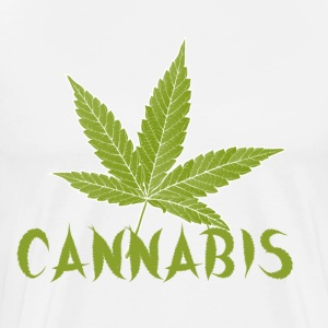 cannabis is love T-Shirts - Men's Premium T-Shirt