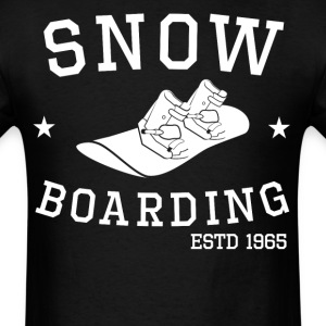 Snowboarding Established 1965 Snowboarder - Men's T-Shirt