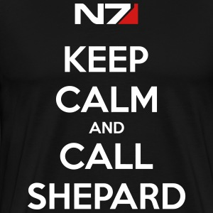 Keep Calm and Call Shephard - Men's Premium T-Shirt