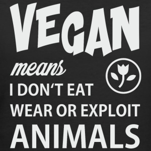 WHAT VEGAN MEANS T-Shirts - Women's 50/50 T-Shirt