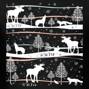"""Winterwonderland"" - Men's T-Shirt"