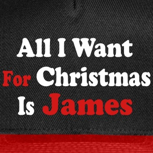 ↷♥All I want for Christmas is James Cap♥↶ - Snap-back Baseball Cap