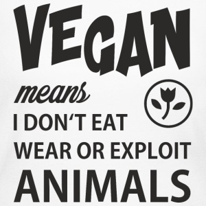 WHAT VEGAN MEANS Long Sleeve Shirts - Women's Long Sleeve Jersey T-Shirt