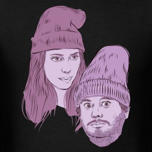 Hila and Ethan from h3h3productions T-Shirts - Men's T-Shirt