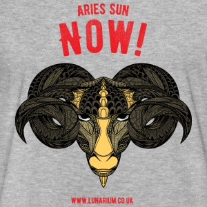Aries Sun Fitted Cotton/Poly T-Shirt by Next Level - Fitted Cotton/Poly T-Shirt by Next Level