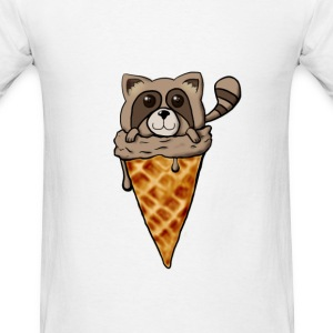 Tanuki Ice Cream - Men's T-Shirt