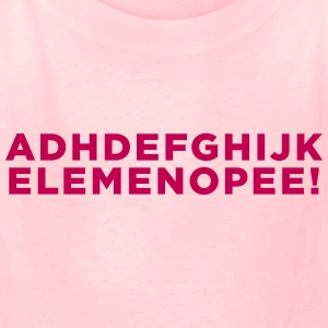 ADHD Education Alphabet Kid's - Kids' T-Shirt