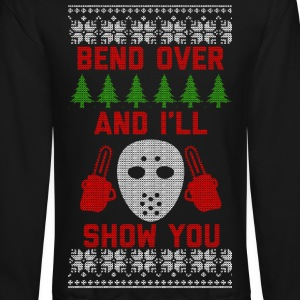 Bend Over Long Sleeve Shirts - Crewneck Sweatshirt