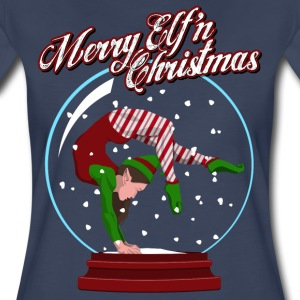 Merry Elf'n Gymnast T-Shirts - Women's Premium T-Shirt