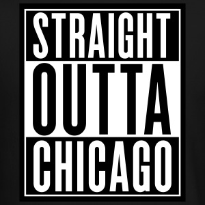 Straight Outta Chicago Long Sleeve Shirts - Crewneck Sweatshirt