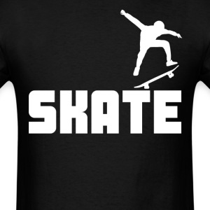 Skate Cool Skateboarder - Men's T-Shirt