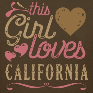This Girl Loves California T-Shirts - Women's T-Shirt