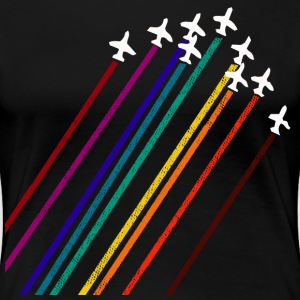 Aeroplane Display Team - Women's Premium T-Shirt