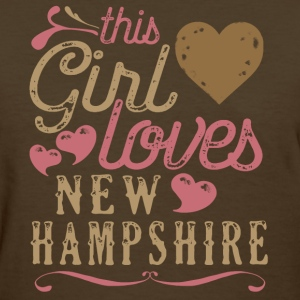 This Girl Loves New Hampshire T-Shirts - Women's T-Shirt