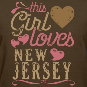 This Girl Loves New Jersey T-Shirts - Women's T-Shirt