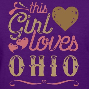 This Girl Loves Ohio T-Shirts - Women's T-Shirt