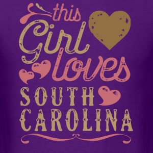 This Girl Loves South Carolina T-Shirts - Men's T-Shirt