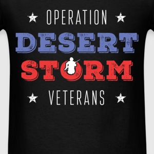 Operation Desert Storm. Veterans - Men's T-Shirt