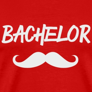 BACHELOR MOUSTACHE T-Shirts - Men's Premium T-Shirt