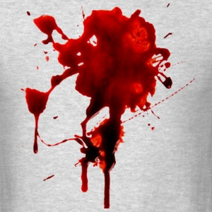 Blood splash - Men's T-Shirt