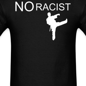 No RACIST Black T-shirt - Men's T-Shirt