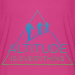 Altitude is everything - Women's Flowy T-Shirt