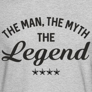 THE MAN THE MYTH THE LEGEND Long Sleeve Shirts - Men's Long Sleeve T-Shirt