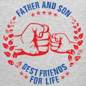 FATHER AND SON BEST FRIENDS FOR LIFE USA Sportswear - Men's Premium Tank