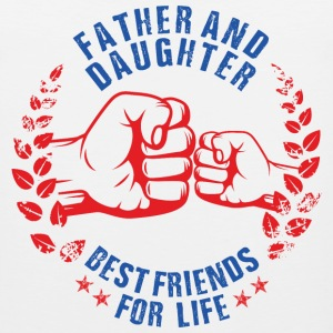 FATHER AND DAUGHTER BEST FRIENDS FOR LIFE USA Sportswear - Men's Premium Tank