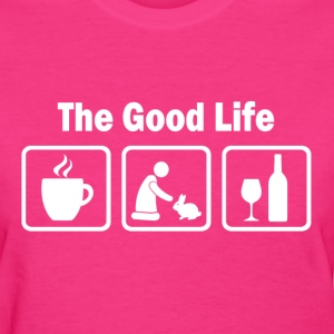 Funny Rabbits The Good Life - Women's T-Shirt